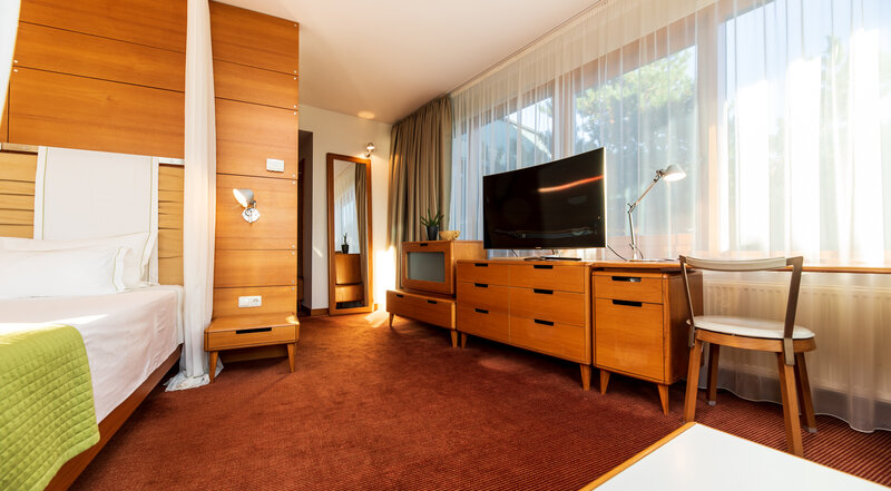 Junior suite with steam bath Luxury building